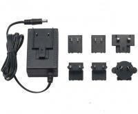 24W Switching Power Supply Adapter with Interchangeable AC Plug EU, USA, UK, Au